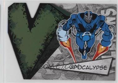 2012 Upper Deck Marvel Beginnings Series 3 Villains Die-Cuts #V-2 - Apocalypse