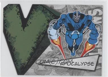 2012 Upper Deck Marvel Beginnings Series 3 Villains Die-Cuts #V-2 - Apocalypse