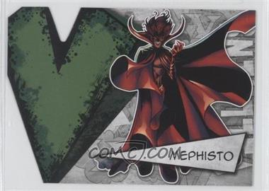 2012 Upper Deck Marvel Beginnings Series 3 Villains Die-Cuts #V-26 - Mephisto