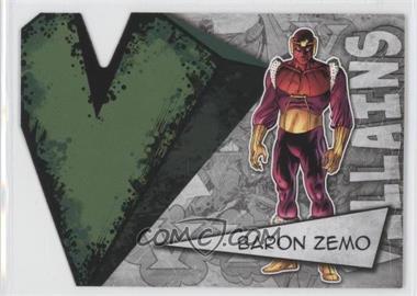 2012 Upper Deck Marvel Beginnings Series 3 Villains Die-Cuts #V-3 - Baron Zemo