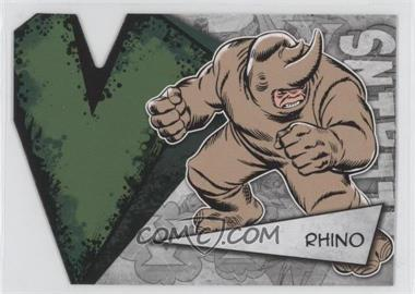 2012 Upper Deck Marvel Beginnings Series 3 Villains Die-Cuts #V-34 - Rhino