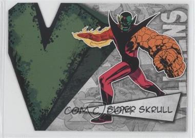 2012 Upper Deck Marvel Beginnings Series 3 Villains Die-Cuts #V-41 - Super Skrull