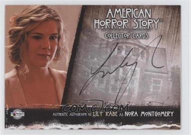 2013-14 Breygent American Horror Story Authentic Autograph #LRR1 - Lily Rabe as Nora Montgomery