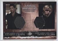 Dylan McDermott as Ben Harmon, Evan Peters as Tate Langdon