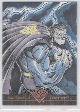 2013 Cryptozoic DC Superman: The Legend Sketches #N/A - [Missing]