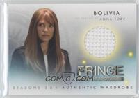 Bolivia as played by Anna Torv