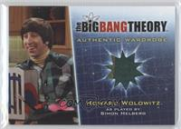 Simon Helberg as Howard Wolowitz