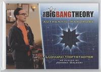 Johnny Galecki as Leonard Hoftstadter