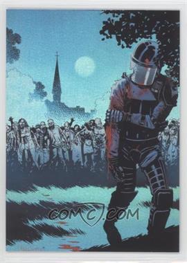 2013 Cryptozoic The Walking Dead Comic Set 2 Foil #28 - The Best Defense, Part 6