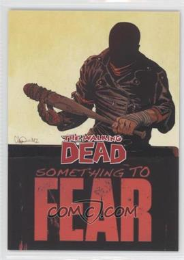 2013 Cryptozoic The Walking Dead Comic Set 2 Something to Fear #STF-4 - [Missing]