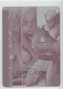 2013 Fleer Marvel Retro - [Base] - Printing Plate Magenta #49 - [Missing] /1