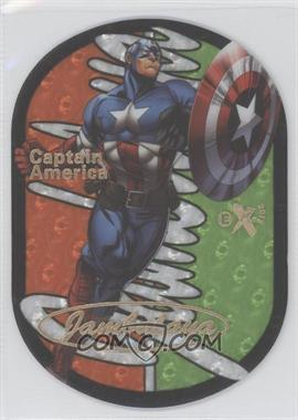 2013 Fleer Marvel Retro - Skybox Jambalaya #7JB - Captain America