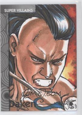 2013 Fleer Marvel Retro Base Sketch Cards #51 - Daken