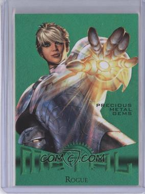 2013 Fleer Marvel Retro Metal Green Precious Metal Gems #20 - Rogue /10