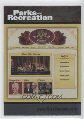 2013 Press Pass Parks and Recreation [???] #83 - [Missing]