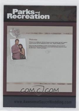 2013 Press Pass Parks and Recreation [???] #90 - [Missing]
