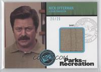 Nick Offerman as Ron Swanson /25
