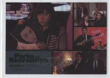2013 Press Pass Parks and Recreation Seasons 1-4 - [Base] - Foil #22 - Season 2, Episode 16 - Galentine's Day