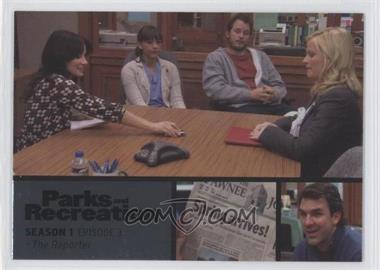 2013 Press Pass Parks and Recreation Seasons 1-4 - [Base] - Foil #3 - Season 1, Episode 3 - The Reporter