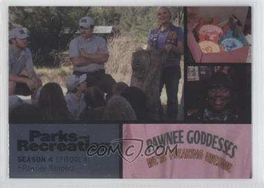 2013 Press Pass Parks and Recreation Seasons 1-4 - [Base] - Foil #50 - Season 4, Episode 4 - Pawnee Rangers
