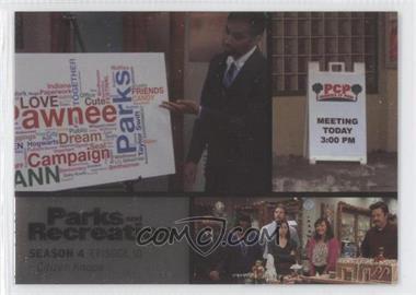 2013 Press Pass Parks and Recreation Seasons 1-4 - [Base] - Foil #56 - Season 4, Episode 10 - Citizen Knope
