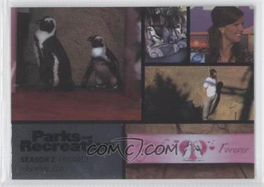 2013 Press Pass Parks and Recreation Seasons 1-4 - [Base] - Foil #7 - Season 2, Episode 1 - Pawnee Zoo