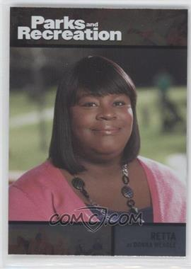 2013 Press Pass Parks and Recreation Seasons 1-4 - [Base] - Foil #76 - Retta as Donna Meagle