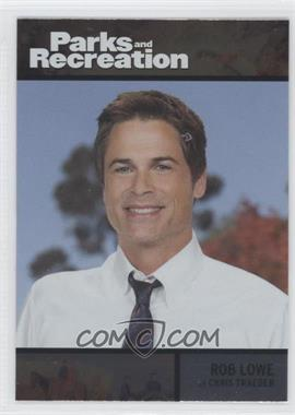 2013 Press Pass Parks and Recreation Seasons 1-4 - [Base] - Foil #78 - Rob Lowe as Chris Traeger