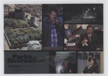 2013 Press Pass Parks and Recreation Seasons 1-4 - [Base] - Foil #8 - Season 2, Episode 2 - The Stakeou