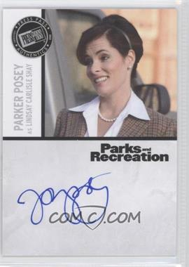 2013 Press Pass Parks and Recreation Seasons 1-4 Autographs #PP - Parker Posey as Lindsay Carlisle Shay