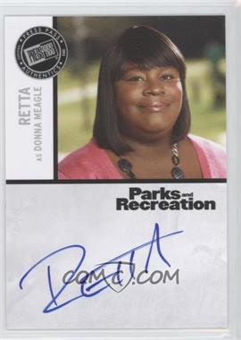 2013 Press Pass Parks and Recreation Seasons 1-4 Autographs #R - Retta as Donna Meagle