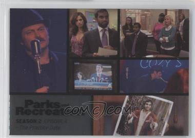 2013 Press Pass Parks and Recreation Seasons 1-4 Foil #10 - Season 2, Episode 4 - The Practice Date