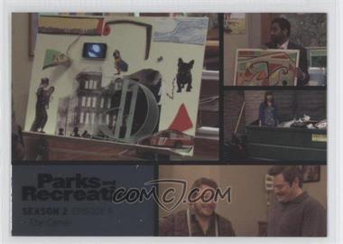 2013 Press Pass Parks and Recreation Seasons 1-4 Foil #15 - Season 2, Episode 9 - The Camel