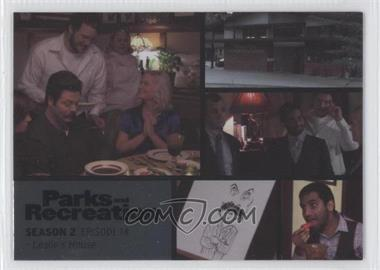 2013 Press Pass Parks and Recreation Seasons 1-4 Foil #20 - Season 2, Episode 14 - Leslie's House