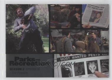 2013 Press Pass Parks and Recreation Seasons 1-4 Foil #24 - Season 2, Episode 18 - The Possum