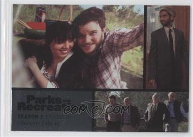 2013 Press Pass Parks and Recreation Seasons 1-4 Foil #26 - Season 2, Episode 20 - Summer Catalog