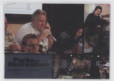 2013 Press Pass Parks and Recreation Seasons 1-4 Foil #28 - Season 2, Episode 21 - Telethon