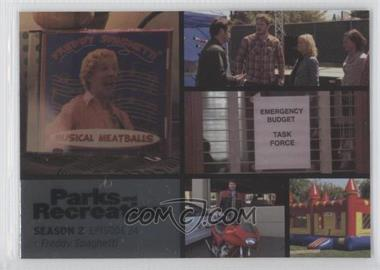 2013 Press Pass Parks and Recreation Seasons 1-4 Foil #30 - Season 2, Episode 24 - Freddy Spaghetti
