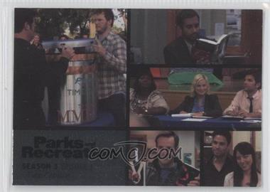 2013 Press Pass Parks and Recreation Seasons 1-4 Foil #33 - Season 3, Episode 3 - Time Capsule