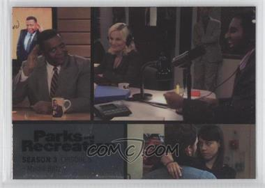 2013 Press Pass Parks and Recreation Seasons 1-4 Foil #35 - Season 3, Episode 5 - Media Blitz