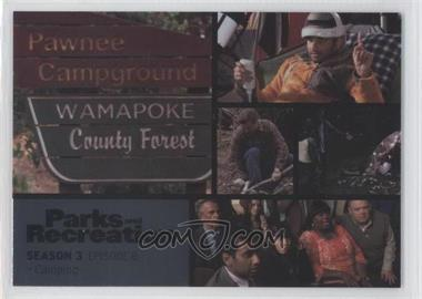 2013 Press Pass Parks and Recreation Seasons 1-4 Foil #38 - [Missing]