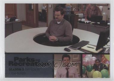 2013 Press Pass Parks and Recreation Seasons 1-4 Foil #45 - Season 3, Episode 15 - The Bubble