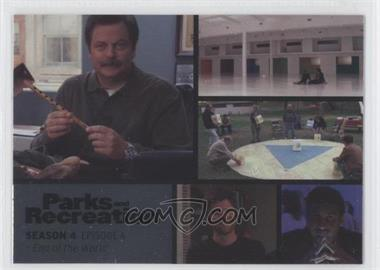 2013 Press Pass Parks and Recreation Seasons 1-4 Foil #52 - Season 4, Episode 6 - End of the World