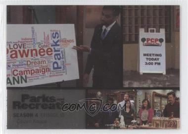 2013 Press Pass Parks and Recreation Seasons 1-4 Foil #56 - Season 4, Episode 10 - Citizen Knope