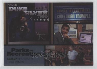 2013 Press Pass Parks and Recreation Seasons 1-4 Foil #61 - Season 4, Episode 15 - Dave Returns