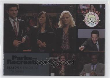 2013 Press Pass Parks and Recreation Seasons 1-4 Foil #66 - Season 4, Episode 20 - The Debate