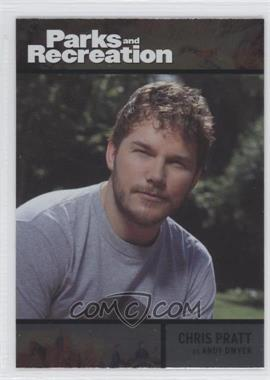 2013 Press Pass Parks and Recreation Seasons 1-4 Foil #74 - Chris Pratt as Andy Dwyer