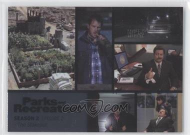 2013 Press Pass Parks and Recreation Seasons 1-4 Foil #8 - [Missing]