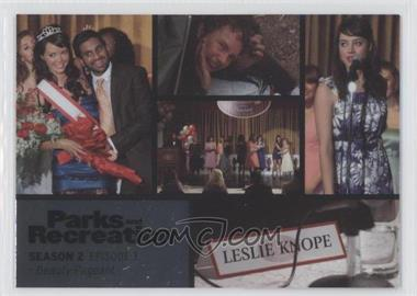 2013 Press Pass Parks and Recreation Seasons 1-4 Foil #9 - Season 2, Episode 3 - Beauty Pageant