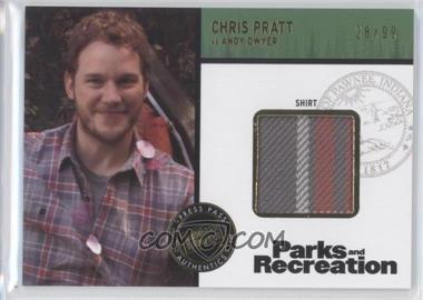 2013 Press Pass Parks and Recreation Seasons 1-4 Relics Gold #CP - [Missing] /99